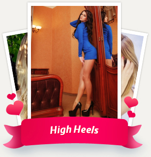 Elegant female legs in high heels, what could be more tempting...awesome attractive ladies! Be in a hurry to watch