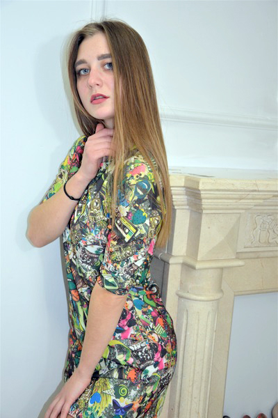 Anna 20 years old Ukraine Kiev, Russian bride profile, www.step2love.com